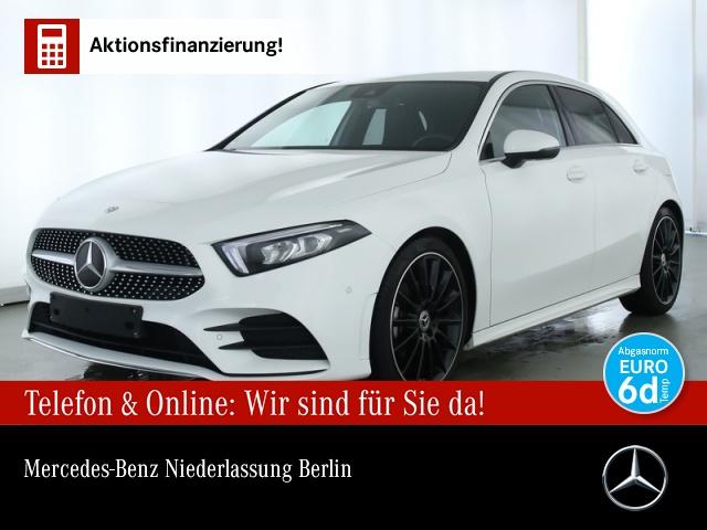 Mercedes-Benz A 180 AMG Navi Premium LED Spurhalt-Ass PTS Sitzh, Jahr 2019, Benzin