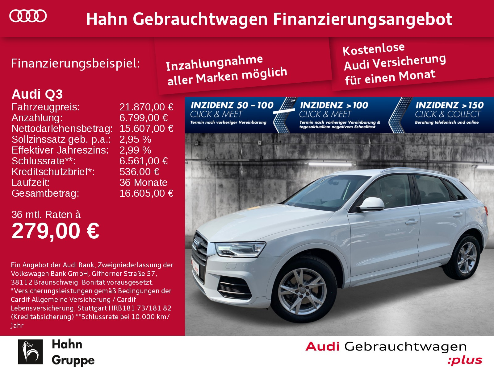 Audi Q3 2.0TDI qua S-trc Navi Xen Sitzh Einpark Klima, Jahr 2017, Diesel