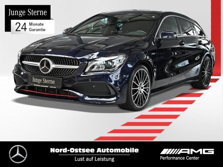 Mercedes-Benz CLA 250 AMG 4M SB Navi LED Distr Exclusiv Kamera, Jahr 2016, Benzin