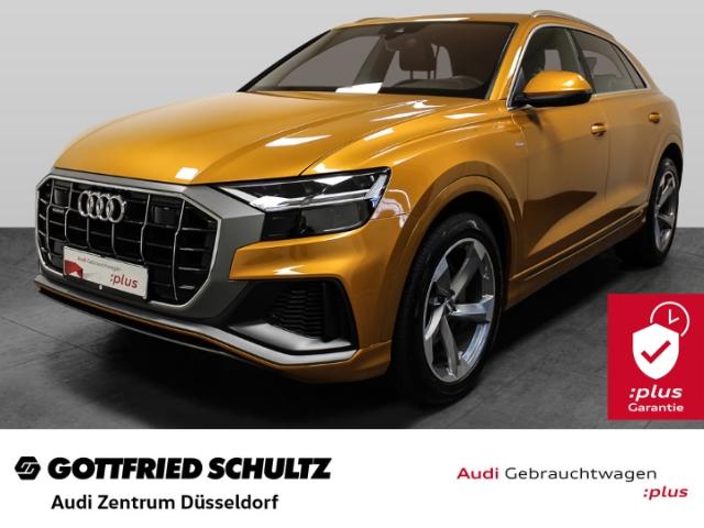 Audi Q8 50 TDI S-Line quattro S-tronic 210(286) KW(PS) Anschlussgarantie bis zum 10.12.2023 o. 100.000km, Jahr 2018, Diesel