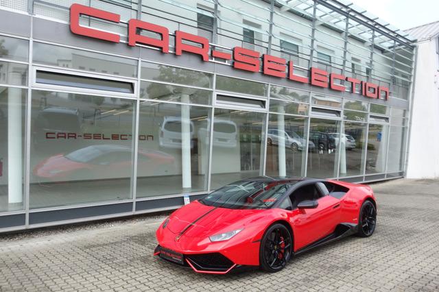 Lamborghini Huracan LP610-4 Carbon Lift NAVI/CERAMIC/erst14t, Jahr 2015, Benzin