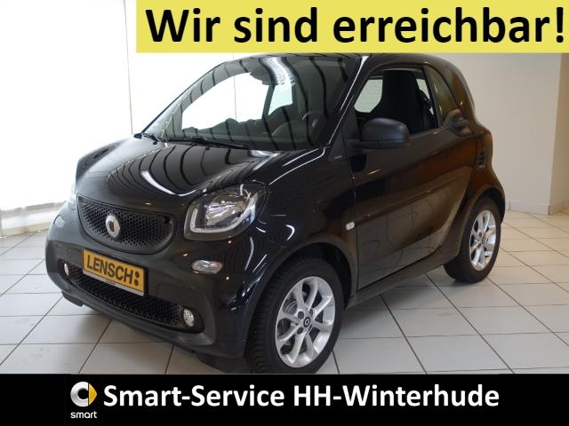 smart fortwo passion AUTOM+SITZHZG+PANORAMA+DAB+BT+USB, Jahr 2018, Benzin