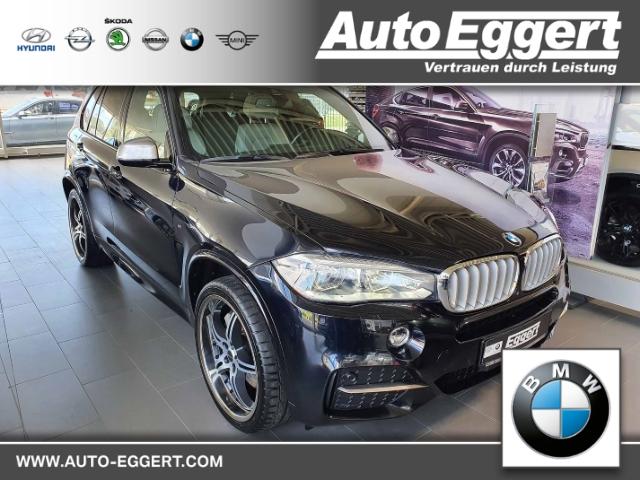 BMW X5 M50 d Leder LED Navi Keyless AD Kurvenlicht e-Sitze HUD ACC Rückfahrkam. Allrad Panorama, Jahr 2016, Diesel