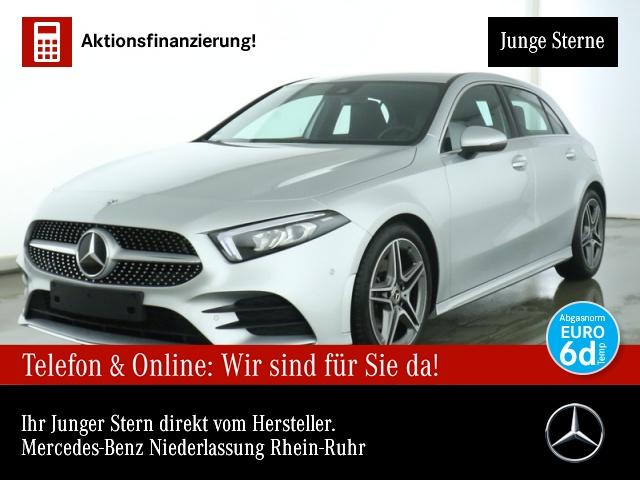 Mercedes-Benz A 200 AMG Navi Premium LED Spurhalt-Ass PTS Sitzh, Jahr 2019, Benzin