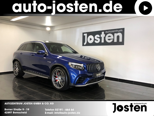 Mercedes-Benz GLC 63 AMG S PANO HUD Burmester AHK Perf-AbGas, Jahr 2018, Benzin