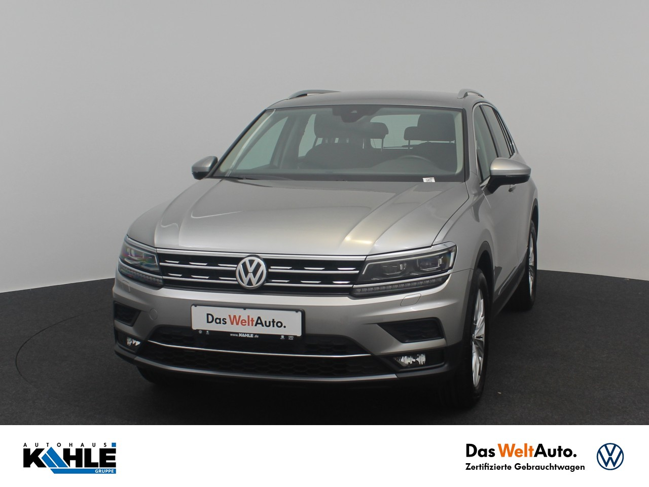 Volkswagen Tiguan 2.0 TDI Highline 4 Motion Navi Active Info AHK LED Klima, Jahr 2018, Diesel