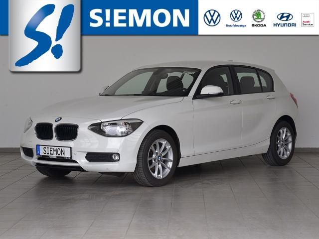 BMW 116 d Klimaauto Tempomat SHZ PDC Licht+Sicht, Jahr 2013, Diesel