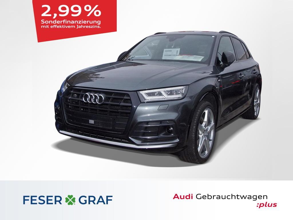 Audi Q5 S line 40 TDI quattro S tronic AHK/Matrix/21`, Jahr 2019, Diesel