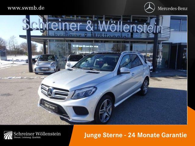 Mercedes-Benz GLE 500 4M Comand*SHD*AHK*Memory*AMG*Standheiz*, Jahr 2017, Benzin