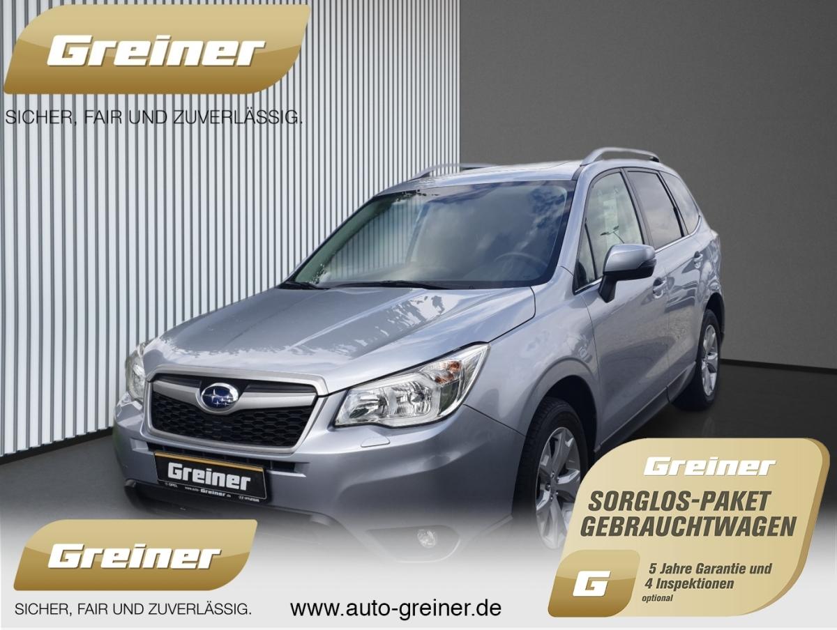Subaru Forester 2.0 Exclusive Aut. ALLRAD RÜCKFAHRKAMER, Jahr 2015, Diesel