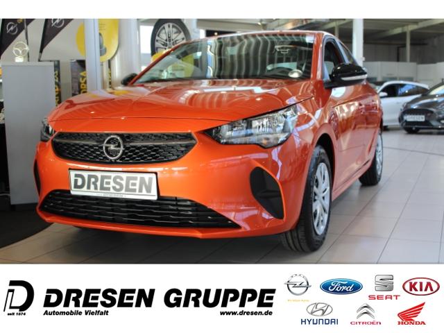 Opel Corsa F Edition Klima+SHZ+DAB+PDC+Navigationslink, Jahr 2021, Benzin
