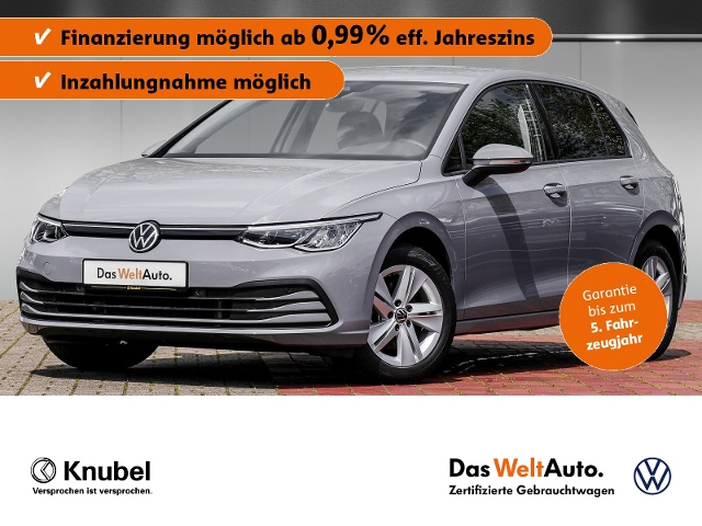 Volkswagen Golf VIII Life 2.0 TDI DSG ACC NaviPro DigiC. LE, Jahr 2020, Diesel