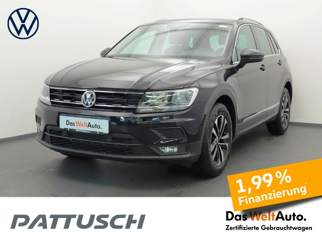 Volkswagen Tiguan 2.0 TDI Comfortline Navi AHZV AppConn., Jahr 2020, Diesel