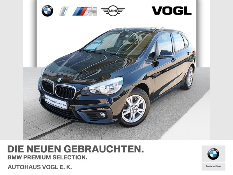 BMW 218d Active Tourer Advantage Tempomat Klimaaut., Jahr 2015, Diesel