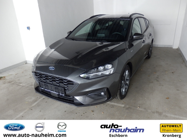Ford Focus Turnier ST-Line 1.0 EcoBoost Mild Hybrid++LED Navi Wi.Pkt. PDCv+h LED-Tagfahrlicht, Jahr 2020, Hybrid