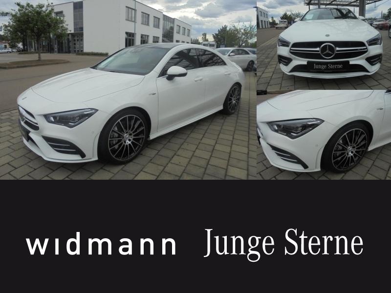 Mercedes-Benz CLA 35 AMG 4M Coupé Panorama*Navi*Sitzhzg*Klima, Jahr 2019, Benzin