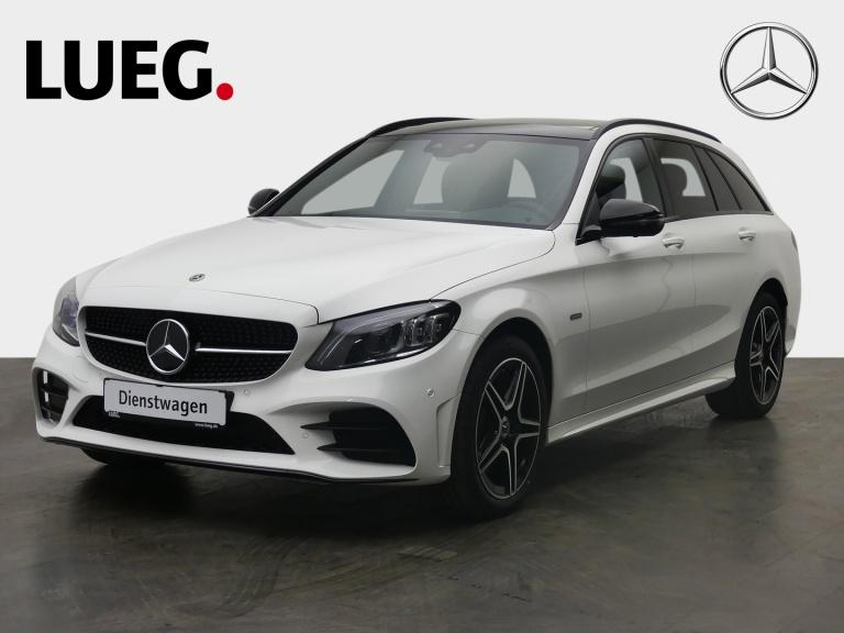 Mercedes-Benz C 300 e T NIGHT EDITION+AMG+PANO+360°+DISTRONIC, Jahr 2021, Hybrid