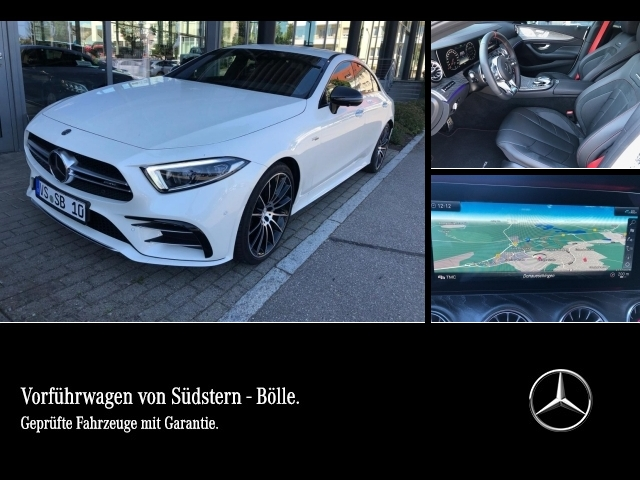 Mercedes-Benz CLS 53 4M+ PDC,LED,Distronic,360°,AHK,Widescreen, Jahr 2019, petrol