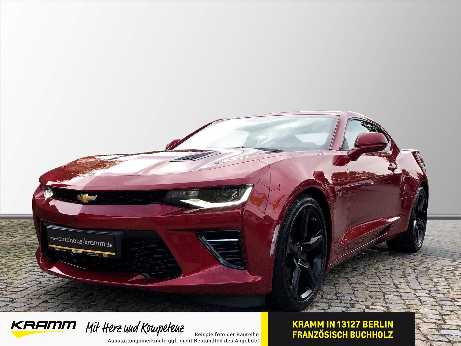 Chevrolet Camaro CPE V8 6.2L AT8 Navi RFK Shz. Tempomat, Jahr 2017, Benzin
