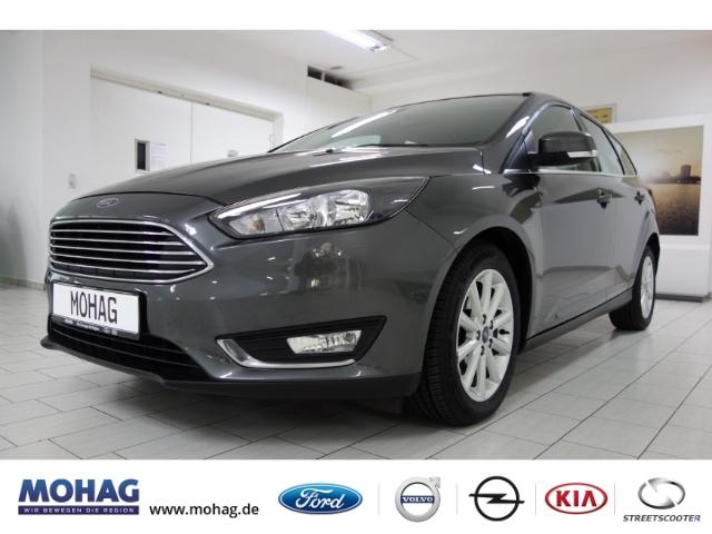 Ford Focus Titanium 1,5l *Klima-Navi-Tempomat-PDC*, Jahr 2017, Diesel