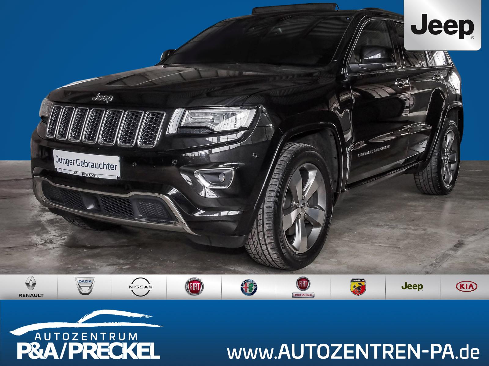 Jeep Grand Cherokee 3.0I Multijet Overland Leder / Navi / SHZ, Jahr 2017, Diesel