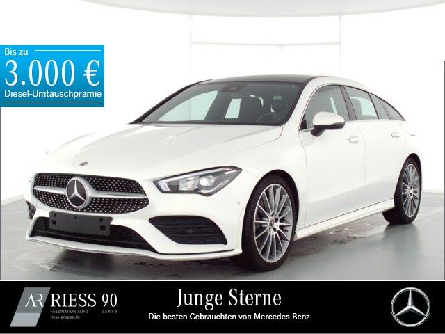 Mercedes-Benz CLA 220 Shooting Brake AMG+Pano.-Dach+LED+AHK, Jahr 2019, Benzin