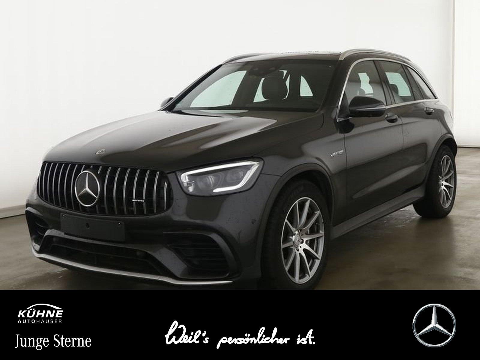 Mercedes-Benz GLC 63 AMG 4M+PerfomanceAbGas+Pano+HighEnd+Ambie, Jahr 2019, Benzin
