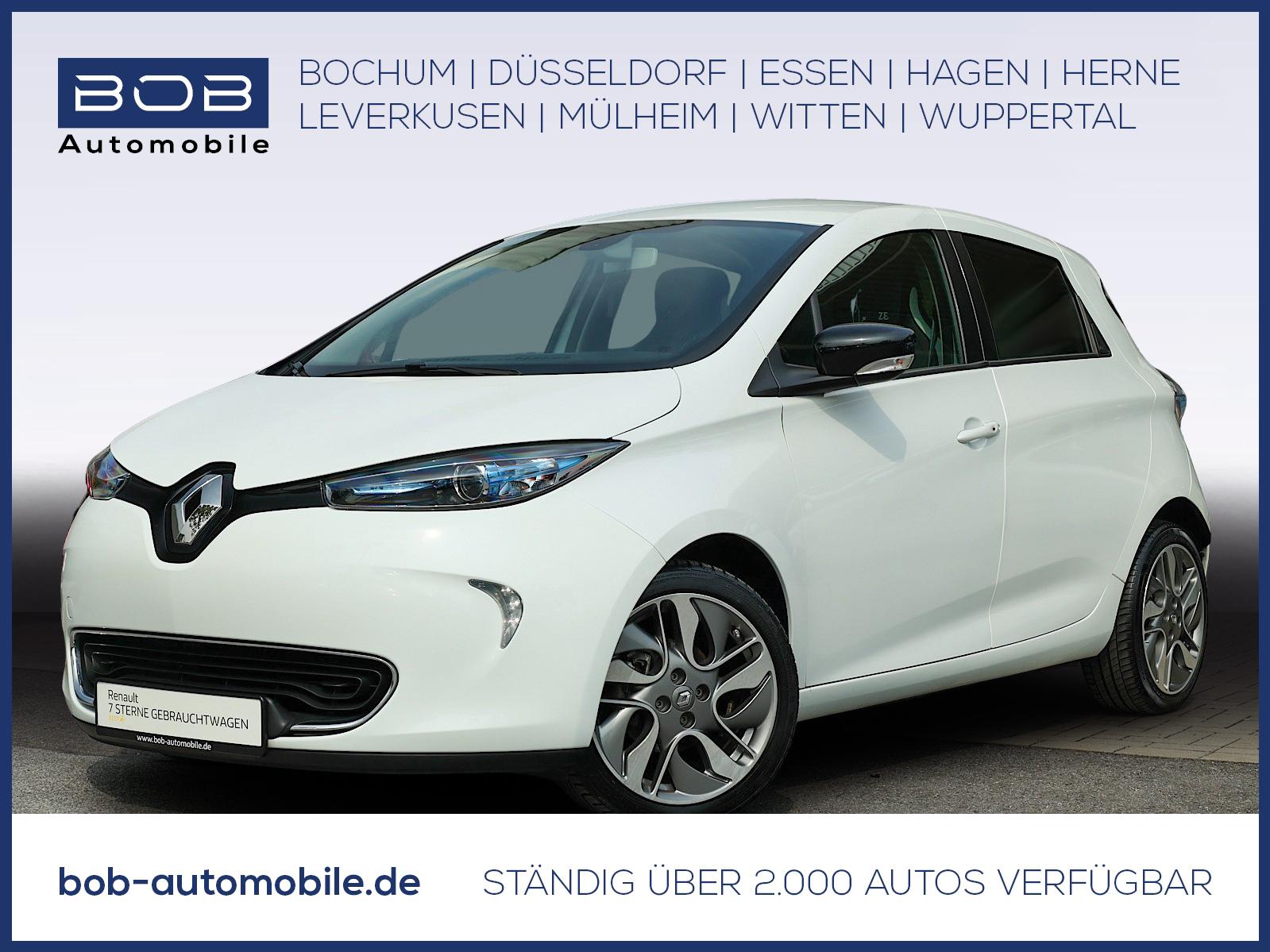 Renault ZOE Intens zzgl. Batteriemiete Navi EPH Kamera, Jahr 2017, Elektro