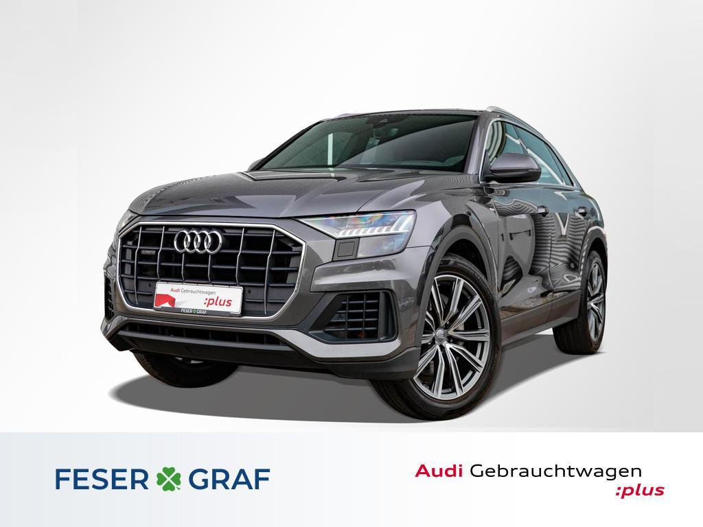 Audi Q8 50 TDI qu. tiptr. S line AHK+HD MATRIX+KAMERA, Jahr 2019, Diesel