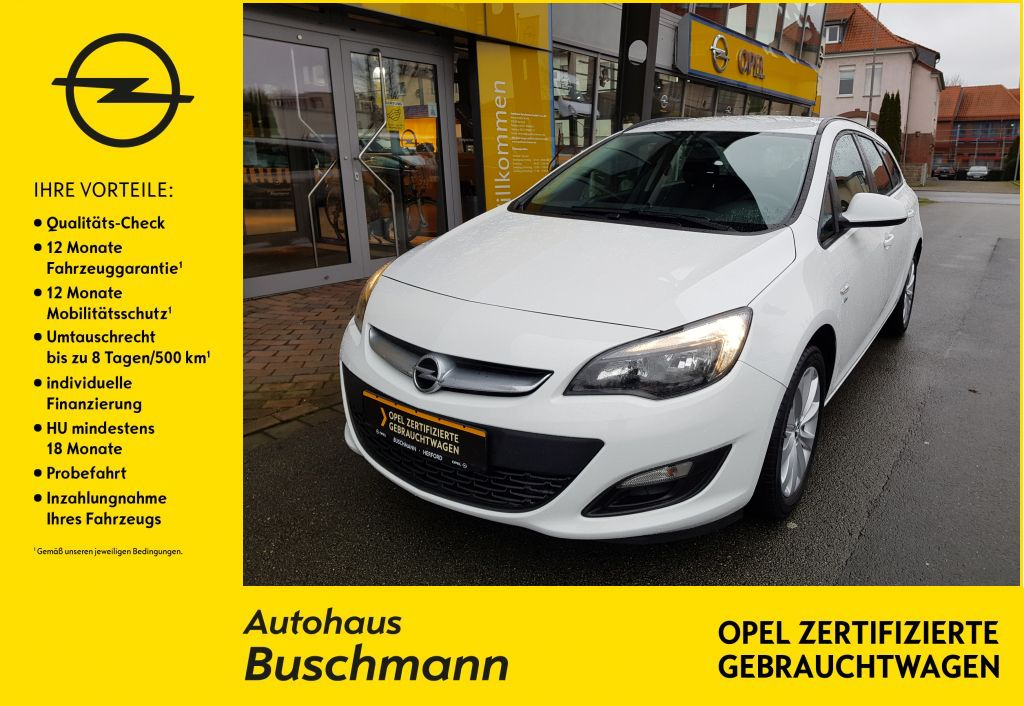 Opel Astra 1.4 Turbo ST Active, Jahr 2013, Benzin