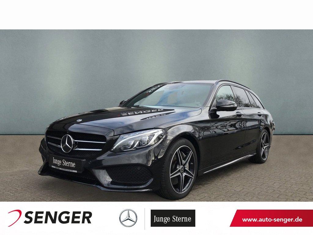 Mercedes-Benz C 400 T 4M AMG Line Comand AHK Standheizung 360°, Jahr 2018, Benzin