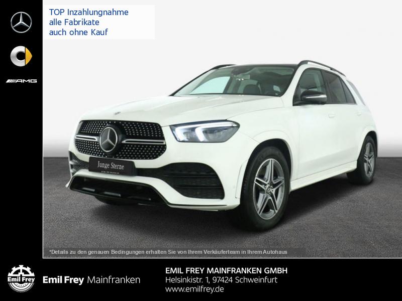 Mercedes-Benz GLE 450 4M AMG +20''+Night+Airmatic+Pano+AHK+MBUX, Jahr 2020, Benzin