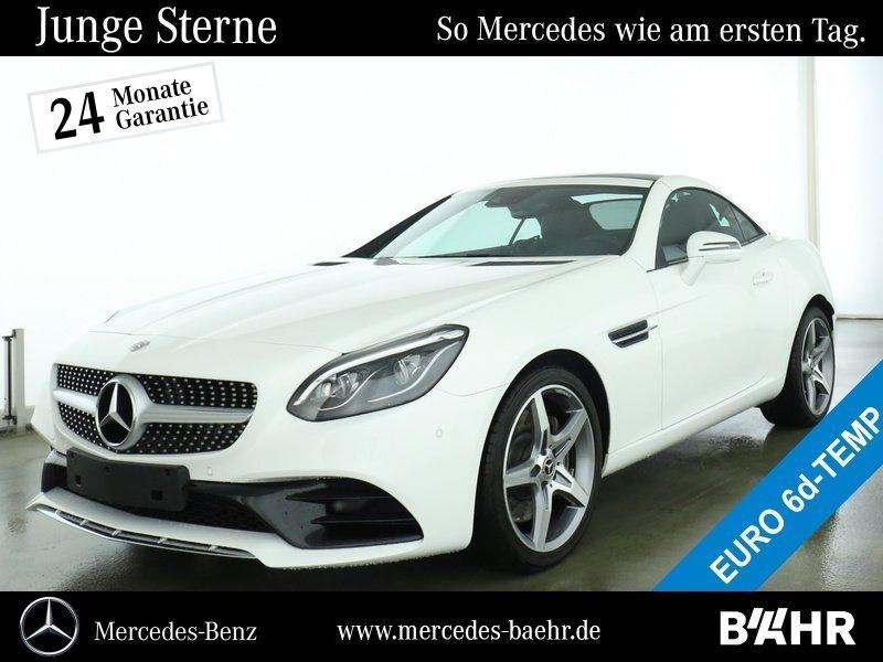 """Mercedes-Benz SLC 300 AMG/Comand/ILS/Airscarf/Totwinkel/LMR18"""", Jahr 2020, petrol"""