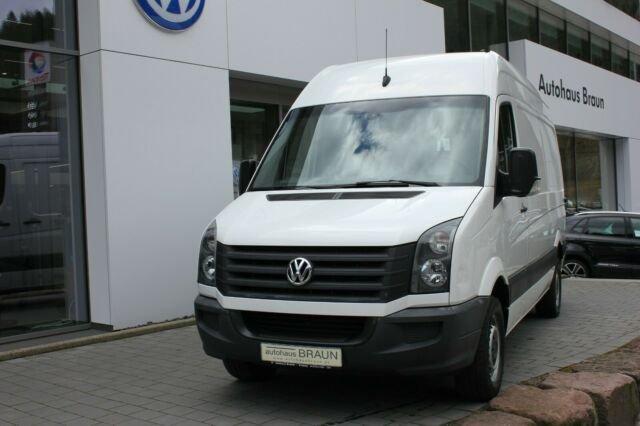 Volkswagen Crafter Kasten 35 mittel Hochdach inkl. Schienen, Jahr 2015, Diesel
