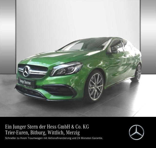 Mercedes-Benz A 45 AMG 4M Pano.-Dach+LED+Kamera+Navi+PDC, Jahr 2017, Benzin