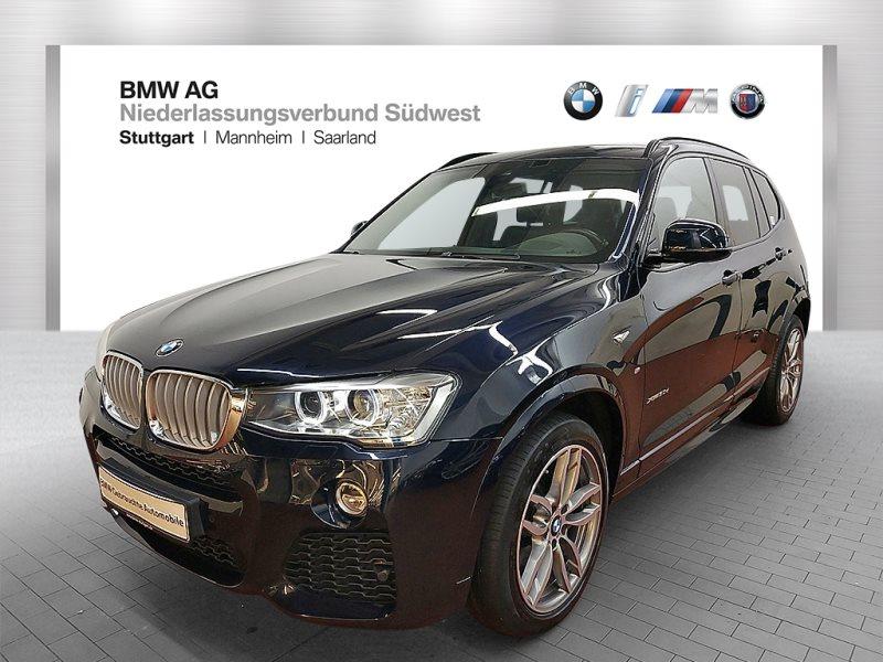 BMW X3 xDrive30d Sportpaket Head-Up HiFi Xenon RFK, Jahr 2017, Diesel