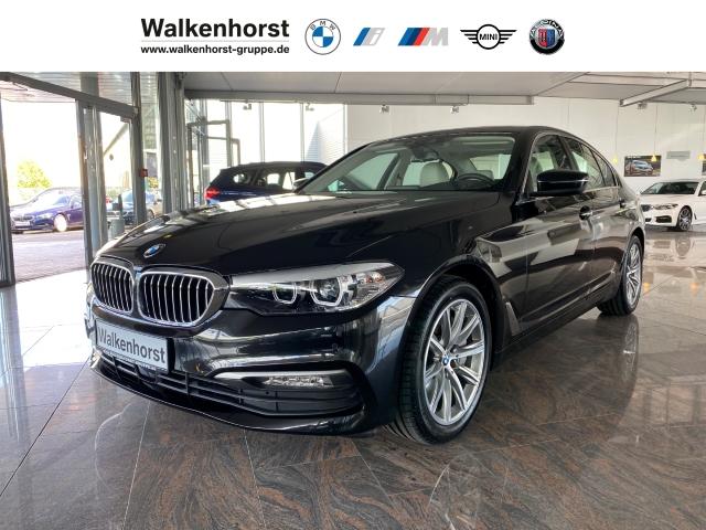 BMW 540 i, LED-Scheinwerfer, Navi, HUD, Panoramadach, Verkehrzeichenerkennung, Jahr 2018, Benzin