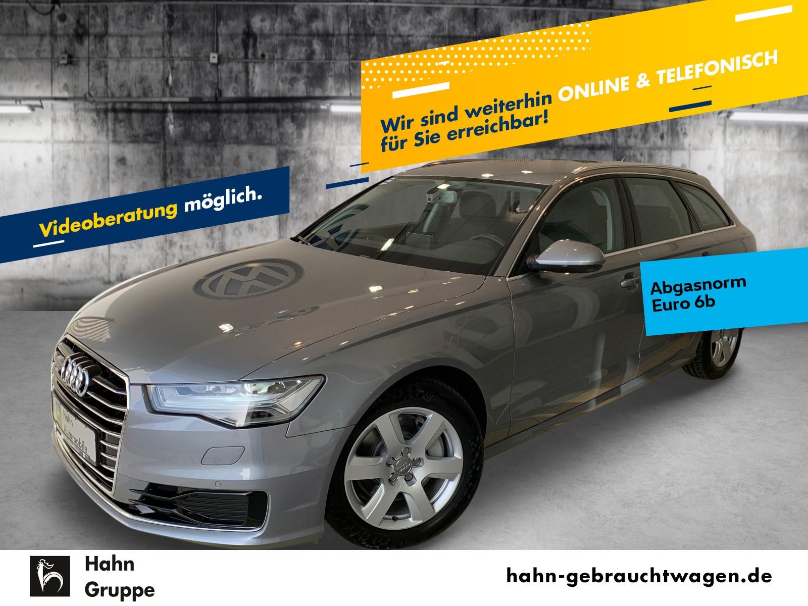 Audi A6 Avant 3,0TDI quattro Stronic Navi AHK LED SHZ, Jahr 2015, Diesel