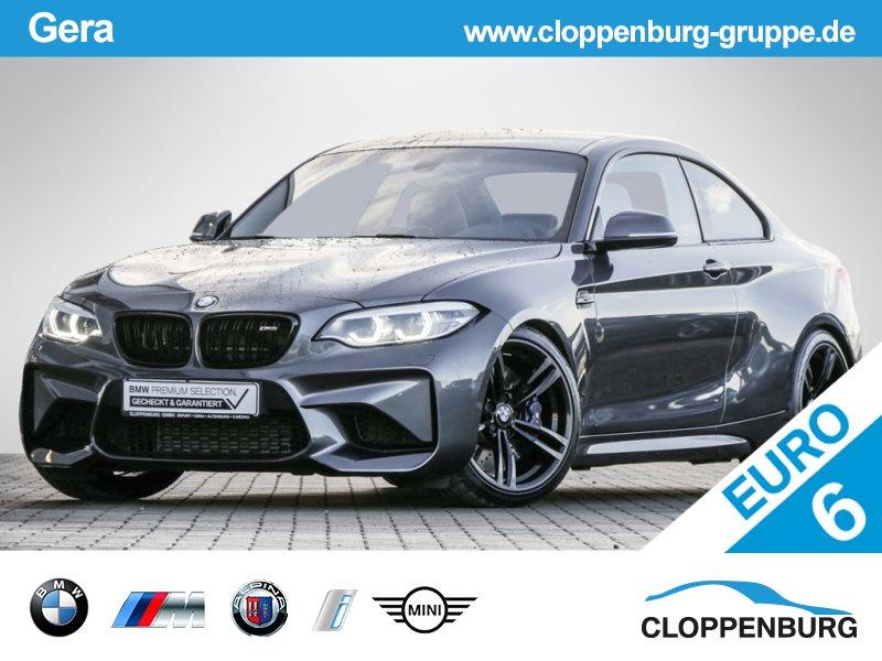 BMW M2 Coupé Alarm/LED/Navi Prof./H&R Fahrwerk, Jahr 2017, petrol