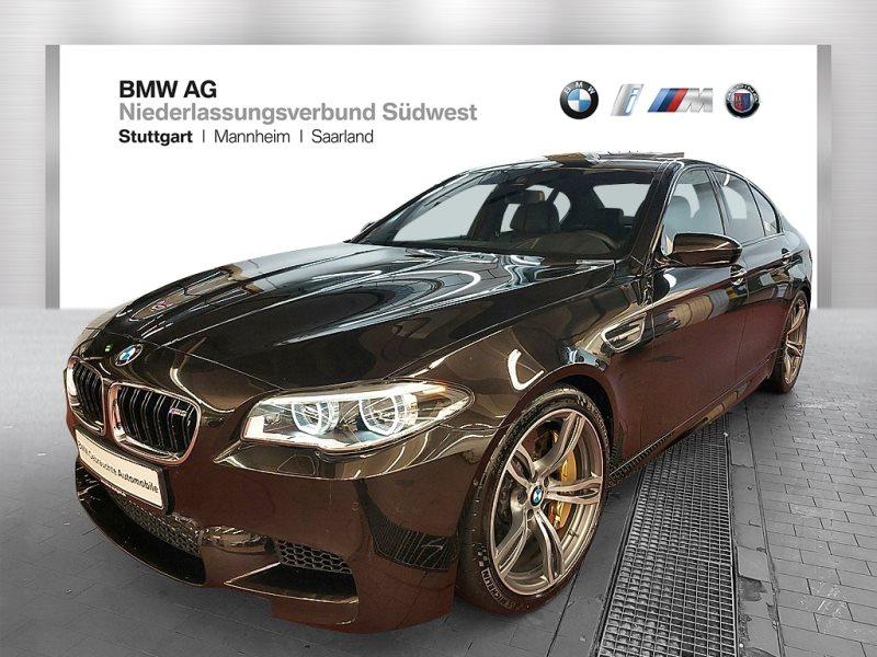 BMW M5 Limousine C.-Keramikbremse Head-Up HK HiFi, Jahr 2017, Benzin