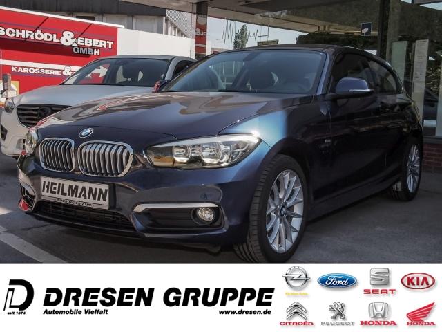 BMW 118 i Urban Line Automatik/Navi/Klimaautomatik/ PDC/Regen/Lichtsensor/17-Zoll-Alu/Tempomat, Jahr 2015, Benzin