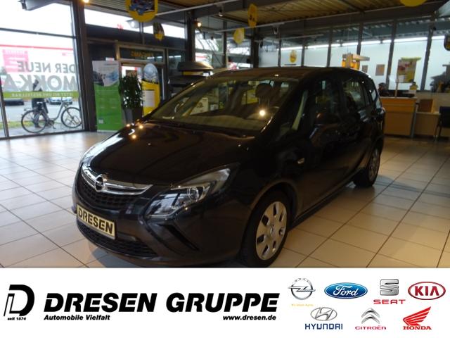 Opel Zafira Tourer C Selection 1.4 Turbo/RDC/KLIMA/CD/Beheiz.Außenspiegel, Jahr 2016, Benzin