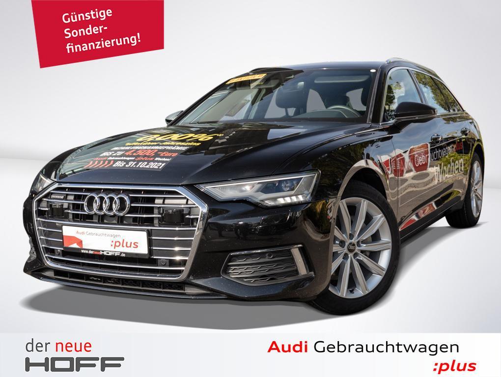 Audi A6 Avant 40 TDI Design Leder Navi LED 19 Zoll Ka, Jahr 2021, Diesel