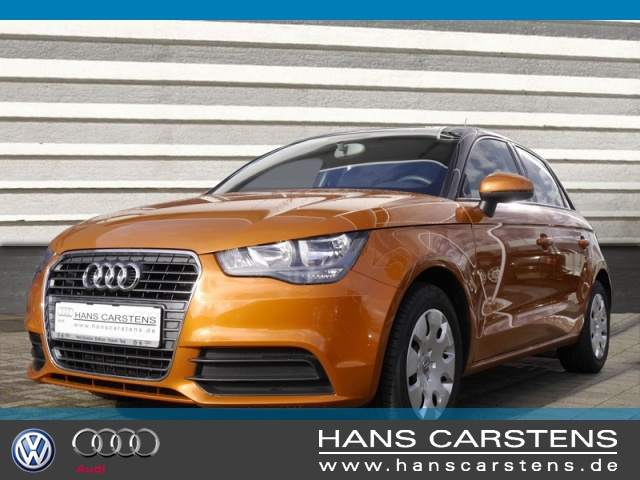 Audi A1 Sportback 1.4 TFSI Attraction Klima el. Fenster, Jahr 2013, petrol