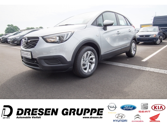 Opel Crossland X Edition 1.2/Klimaanlage/Intellilink/Alufelgen, Jahr 2018, Benzin
