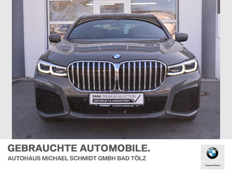 BMW 745e iPerformance M SPORTPAKET+MASSAGE+FOND ENTERTAINEMENT+, Jahr 2020, Hybrid