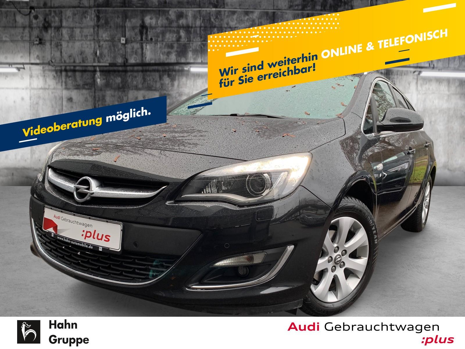 Opel Astra Sports Tourer 1.4Turbo Xen Navi Einparkh Sitzh Bluetooth, Jahr 2014, Benzin
