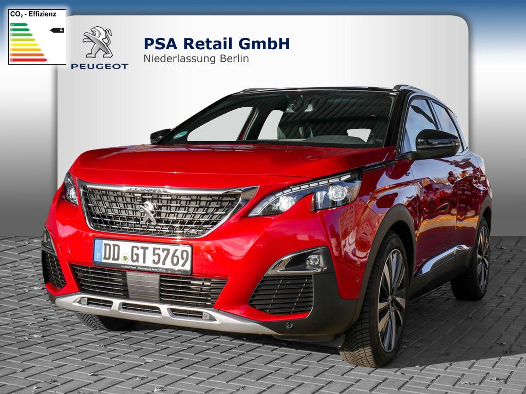 Peugeot 3008 GT 2.0 BlueHDi 180 EAT8, Jahr 2020, Diesel