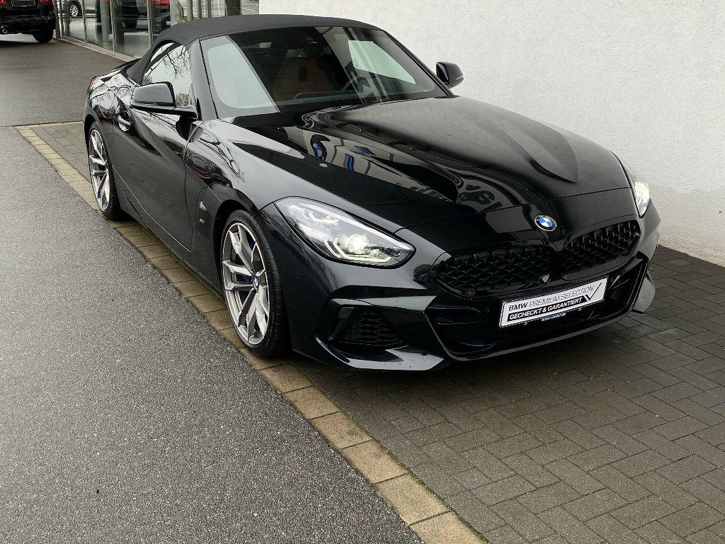 BMW Z4 M40i Cabrio Head-Up ACC Head-Up adapLED DAB, Jahr 2019, petrol
