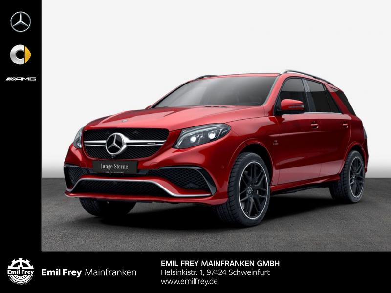 Mercedes-Benz GLE 63 AMG 4M+AHK+Perform*Traum-Farbkombination, Jahr 2016, Benzin